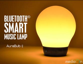 가우넷, 디붐 블루투스스피커 '오라벌브' 스마트 LED조명스피커 출시