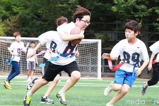 산종합운동장에서 '2015 KUFFA 협회장배 플래그풋볼 대회' 개최